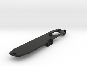 O Scale B&QT 6000 Frame Only in Black Natural Versatile Plastic