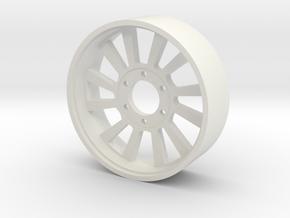 BP8 rear wheel Rapid OTO in White Strong & Flexible