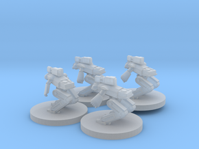 Crusader Robot in Smooth Fine Detail Plastic