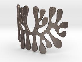 amoeba bracelet in Stainless Steel