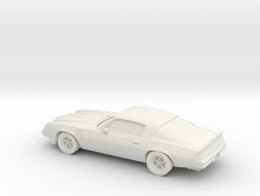 1/87 1979 Chevrolet Camaro IROCZ in White Strong & Flexible