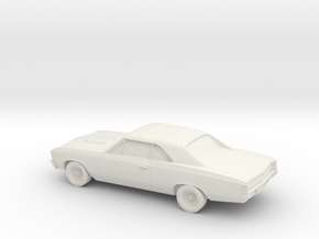 1/87 1967 Chevy Chevelle in White Strong & Flexible