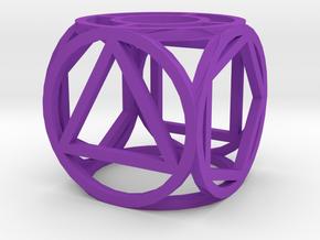 Dice109 in Purple Processed Versatile Plastic