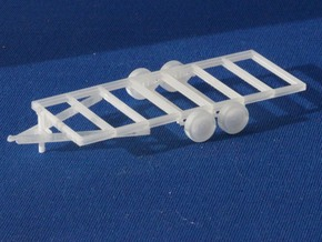 Trailers Frames X2 HO Scale 1/87 in Frosted Ultra Detail