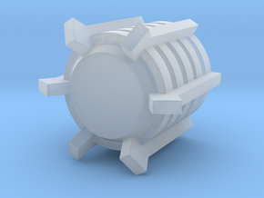 Deathbot Gauss Generator v2 (larger) in Smooth Fine Detail Plastic