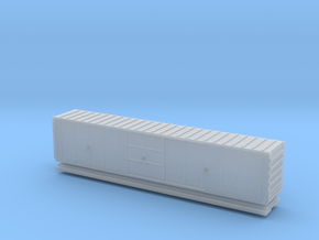 Hy Cube Box Car - Zscale in Smooth Fine Detail Plastic