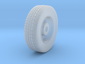 Front Wheel in Smooth Fine Detail Plastic
