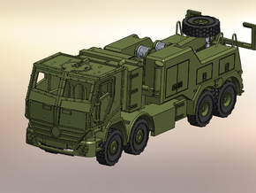Actros Bison 1:160 in Smooth Fine Detail Plastic