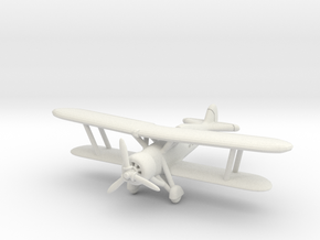 IMAM Ro.37bis Lince (Single seat field mod) 1/285 in White Natural Versatile Plastic