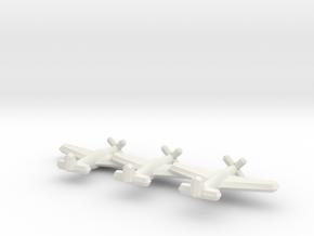 P-51B/C/Mustang III (Triplet) 1/900 in White Natural Versatile Plastic