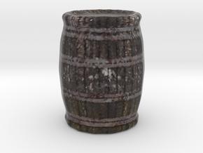 Miniature Barrel in Full Color Sandstone