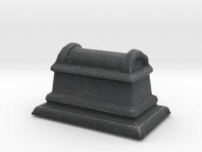 Miniature Stone Coffin in Full Color Sandstone
