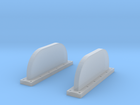 Apollo Scim Anten 1:48 Set of 2 in Smooth Fine Detail Plastic