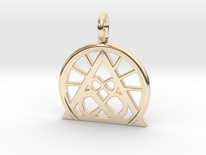 SACREDLIFE SYMBOL OF ABUNDANCE in 14K Yellow Gold