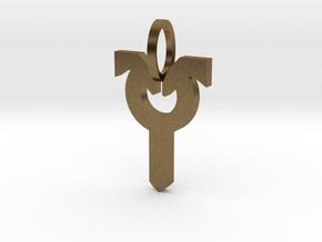 Avacyn Pendant in Natural Bronze
