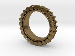 Bullet ring(size = USA 6) in Natural Bronze