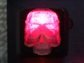 Cherry MX Skull Keycap in Smooth Fine Detail Plastic