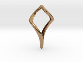 Pike (precious metal) in Polished Brass