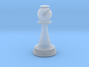 Inception Bishop Chess Piece (Heavy) in Smooth Fine Detail Plastic
