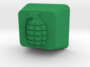 Cherry MX Grenade Keycap in Green Processed Versatile Plastic