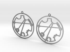 Christine - Earrings - Series 1 in Premium Silver