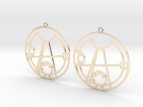 Daisy - Earrings - Series 1 in 14K Yellow Gold