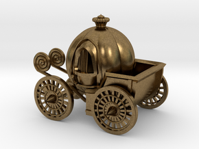 Pumpkin carriage in Natural Bronze