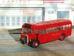 1:43 Bristol L5G ECW Bus  1946 in White Strong & Flexible
