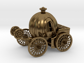 Pumpkin carriage LV2 in Natural Bronze