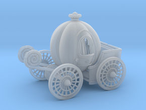 Pumpkin carriage LV2 in Smooth Fine Detail Plastic