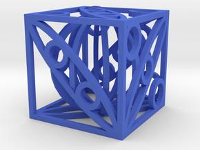 Dice31 in Blue Processed Versatile Plastic