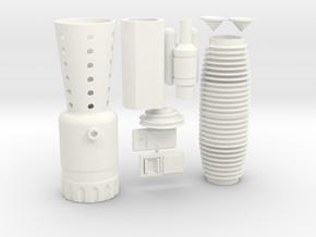 Merr Sonn Power 5 V2.0  Kit in White Processed Versatile Plastic
