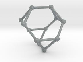 Truncated Tetrahedron in Polished Metallic Plastic