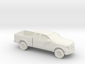 1/87 2010 Ford F 150 Lariat Extendet Cab in White Natural Versatile Plastic