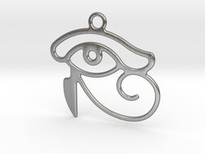 The Eye Of Horus in Raw Silver