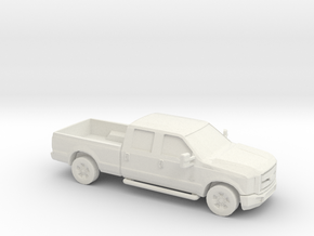 1/87 2011 Ford F 350 in White Natural Versatile Plastic