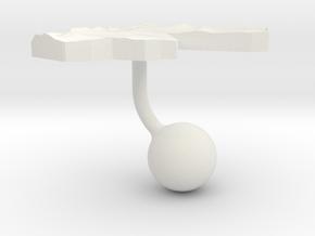 Jordan Terrain Cufflink - Ball in White Natural Versatile Plastic