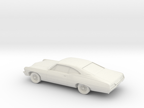 1/87 1967 Chevrolet Impala in White Natural Versatile Plastic