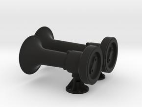 Nathan Single Chime 12&15 bells in Black Natural Versatile Plastic