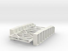 1-16 T55 ENIGMA HULL Shields in White Natural Versatile Plastic