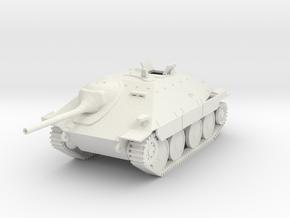 PV59B Jagdpanzer 38t (Open Hatch) (28mm) in White Natural Versatile Plastic