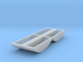 N scale Aluminator Tubs in Smooth Fine Detail Plastic