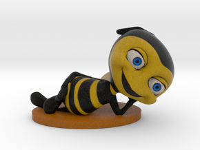 """""""Bee Yourself"""" in Full Color Sandstone"""