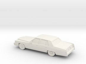 1/87 1979 Cadillac Fleetwood Brougham  in White Strong & Flexible
