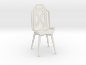 Mini Meta Chair  in White Natural Versatile Plastic