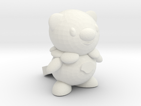 Oshawott in White Natural Versatile Plastic