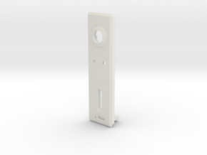 DNA40 1590B Side insert with Charger in White Natural Versatile Plastic