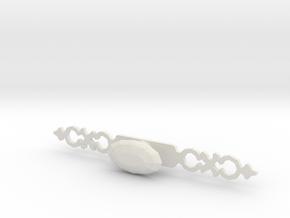 Drawer Handle in White Natural Versatile Plastic