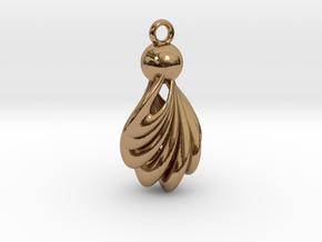 Twist in Polished Brass