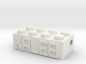 KALEB in White Natural Versatile Plastic